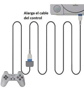 Extensión Añadido Cable Control Playstation 1 Mt Ver Entrada