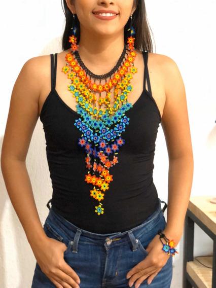 Collar De Chaquiras Modelo Cascada Mayoreo