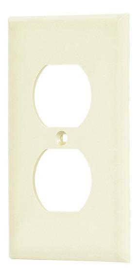 Placa Doble Plastica Std Voltech 46406