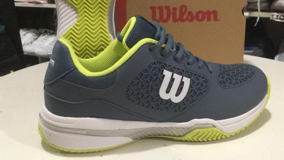 Zapatillas Tenis Wilson - Match- Hombre 2019 + Medias De Reg