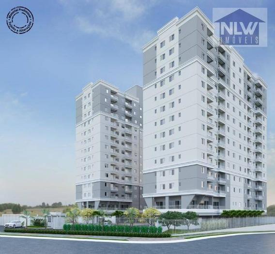 Apartamento Com 2 Dormitórios À Venda, 48 M² Por R$ 298.000 - Vila São Pedro - Santo André/sp - Ap1057