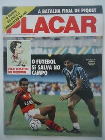 Placar #856 Flamengo 1 X 1 Grêmio - Renato Gaúcho E Aílton