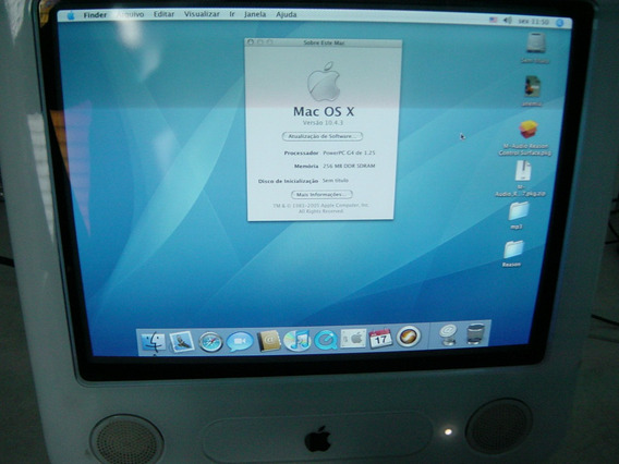 *** Apple Emac Power Pc G4 Branco ***