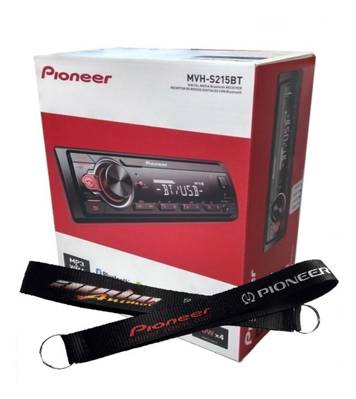 Stereo Pioneer Mvh 215 Bluetooth Usb Aux Nuevo 295 New 2019