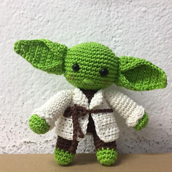 Boneco De Crochê - Baby Yoda - Nigurumi Star Wars