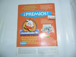 Publicidad Kinder Coleccion Juntakinder 96 Miniatura Muñeco