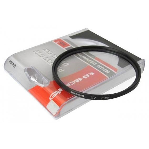 Filtro Uv Polarizador Proteção Lente Canon Nikon Greika