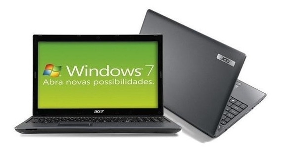 Notebook Acer 5250 Dual Core 4gb 500gb Windows 15,6