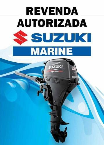 Motores De Popa Suzuki 20hp 0km 4 Tempos  Injeçao  12 Vezes