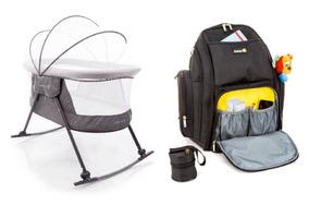 Kit Berço Moisés Bebê Dreamy + Mochila Maternidade Safety1st