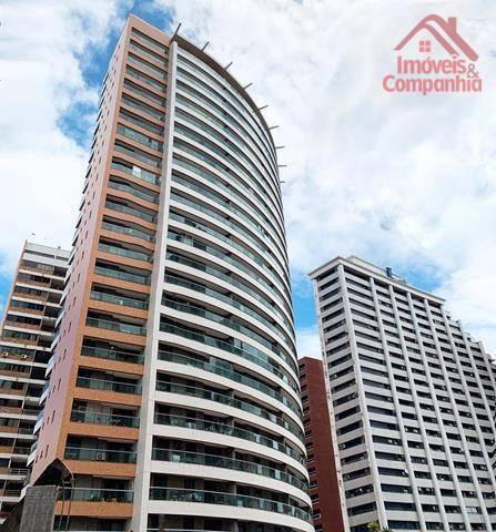Cobertura Com 3 Dormitórios À Venda, 140 M² Por R$ 900.000,00 - Mucuripe - Fortaleza/ce - Co0043