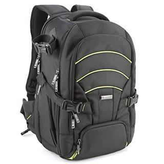 Evecase Large Dslr Camera Laptop Backpack
