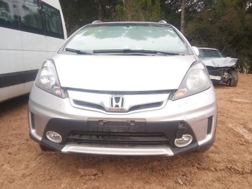 Sucata Honda Fit Twist 1.5 2013/2014 Para Retirada De Peças