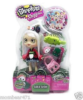 Shopkins Shoppies Doll Sara Sushi