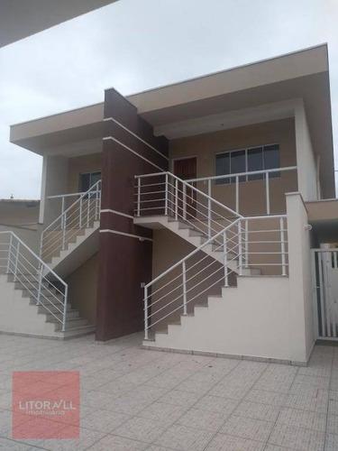 Imagem 1 de 11 de Casa Com 2 Dormitórios À Venda, 70 M² Por R$ 170.000,00 - Balneário Tropical - Itanhaém/sp - Ca1635