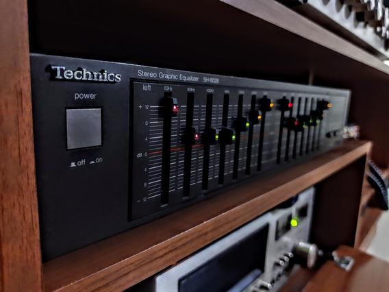 Serigrafía Equalizador Technics Sh8028 - Excelente Estado