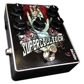 Pedal Supercollider Fuzz Distortion Guitarra Monstro Effects