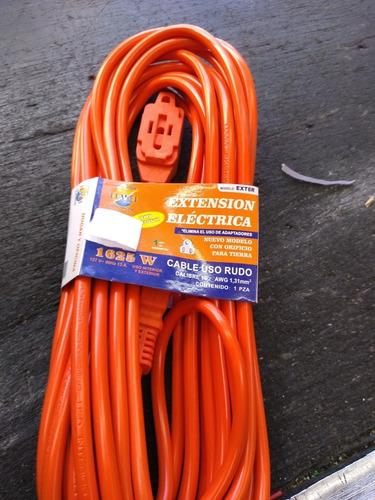 Extension Electrica Lote De Distintos Tamaños