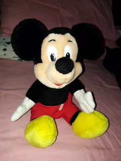 Peluche Original Disney Mickey Mouse Impecable