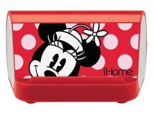 Caixa De Som Portátil Mp3 Speaker System - Minnie Mouse