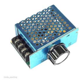 Controlador Velocidade Motor / Voltagem 220v/110v 4000w