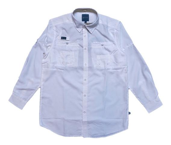 Camisas Ke Manga Larga Blanco Niños #jl03-2871