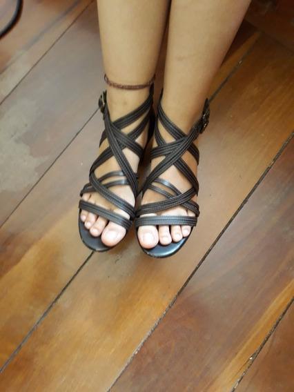 Sandália Linda Zara - Tam 35 - Pouquissimo Usada
