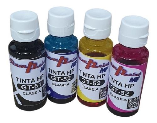 Tinta Hp Gt51 Gt52 Compatible Gt-5820 Gt-5810