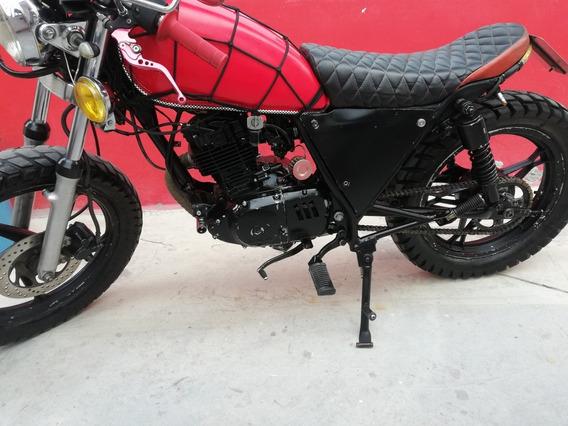 Moto Suzuki Gn 125 Tipo Cafe Racer