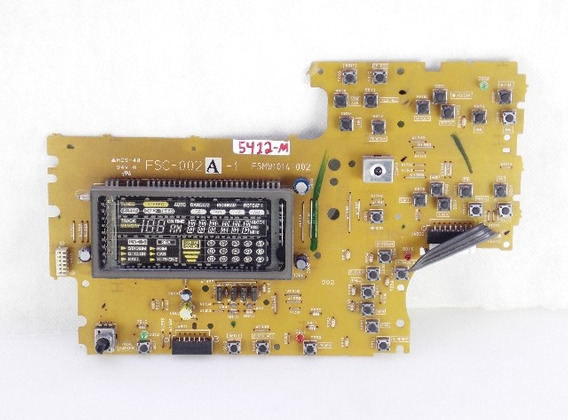 Placa Display Painel Micro System Jvc Mx-s20 : M5412
