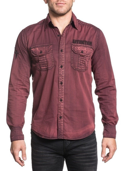 Camisa Affliction Darken Soul