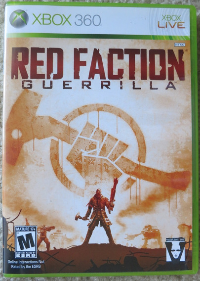 Red Faction Guerrilla Xbox 360 Dvd Lacrado Mídia Física