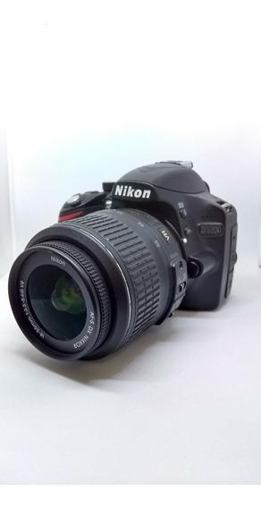 Câmera Nikon D3200 Com 11 Mil Click,s