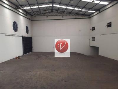 Galpão Para Alugar, 2700 M² Por R$ 30.000/mês - Vila Pires - Santo André/sp - Ga0170