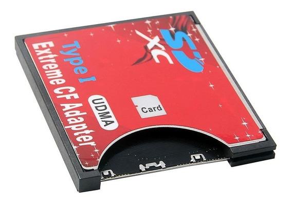 2x Adaptador Sdhd, Sd, Para Compact Flash Cf