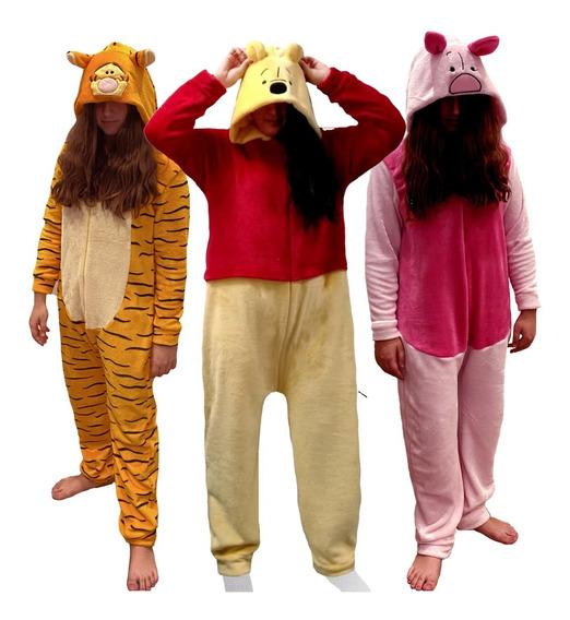 Kit Mamelucos Adulto Tigger, Piglet, Pooh