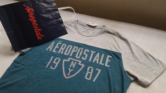 Remera Aeropostale Talle M Nuevas Con Etiqueta Varios Modelo