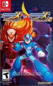 Jogo Mega Man X Legacy Collection 1 E 2 Nintendo Switch