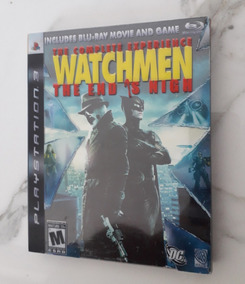 Jogo Watchmen Ps3 The Complete Experience Cd Mídia Física
