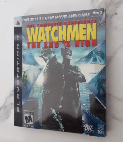 Jogo Watchmen Ps3 The Complete Experience Cd Mídia Física