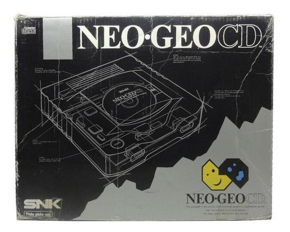 Console Neo Geo Cd Snk Pronta Entrega