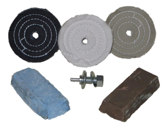 Kit 10 Polimento Lustro Roda,tampa Motor,garfos, Cm