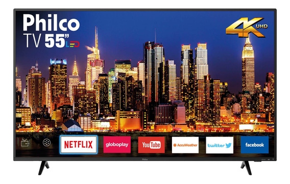Smart Tv 4k Philco 55 Ptv55f62sn Hdmi Usb Wi-fi