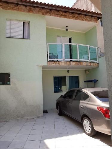 Imagem 1 de 15 de Sobrado Na Vila Matilde Com 3 Dorms Sendo 1 Suíte, 2 Vagas, 95m² - So0548