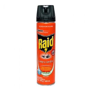 Insecticida Raid Casa Y Jardin 400 Ml Scj-659933