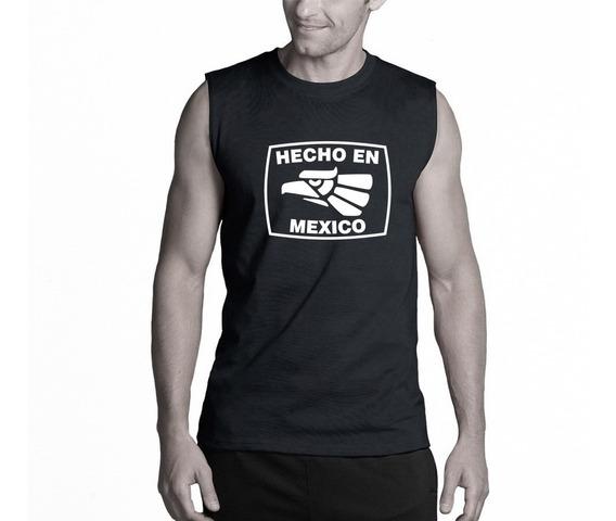 Camiseta Estampada Sin Mangas Hecho En México