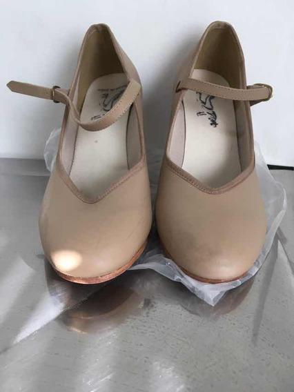 Sapato Dança Capezio Beje N 37