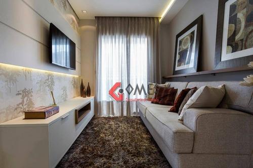 Apartamento Com 2 Dormitórios À Venda, 55 M² Por R$ 307.500,00 - Baeta Neves - São Bernardo Do Campo/sp - Ap0941