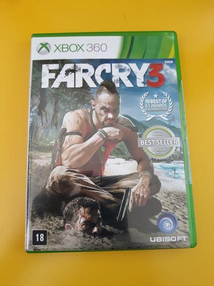 Jogo Farcry3 Original Xbox 360 Completo