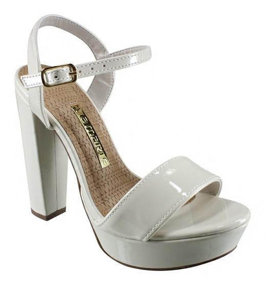 Zapatos Mujer Fiesta Blanco Vía Marte 17-17102 Importados